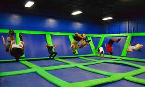 Steel City Jump Park: Two Hours of Trampoline Arena Time at Steel City Jump Park (Up to 58% Off)