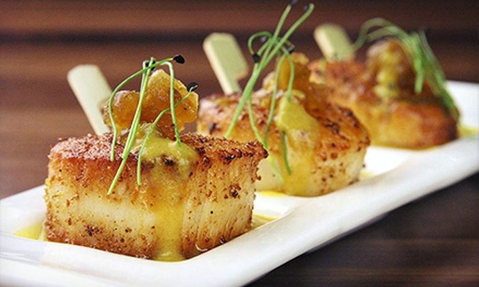 Tashan - Bella Vista - Southwark: Fine Dining Cuisine or Three-Course Fine Dining Brunch at Tashan (Up to 63% Off). Four Options Available.