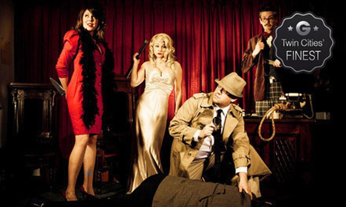 The Murder Mystery Company (at Stillwater KC Hall) - KC Hall: Dinner Show for One or Two from The Murder Mystery Company at Stillwater KC Hall (Up to 53% Off)