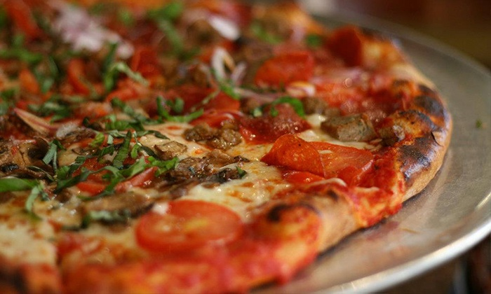 Tony Sacco's Coal Oven Pizza - Clay Terrace Mall: $12 for $20 Worth of Pizza and Sandwiches at Tony Sacco's Coal Oven Pizza