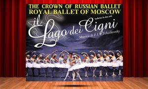 Lago dei Cigni: Royal Ballet of Moscowpresenta Il Lago dei Cigni, dal 16 dicembre al Teatro Italia di Roma (sconto 44%)