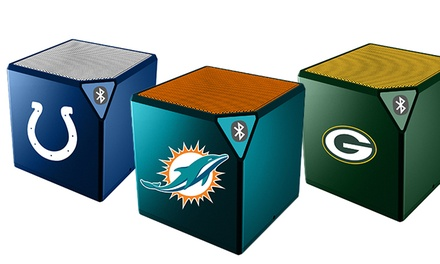 NFL Sound Cube Bluetooth Speaker