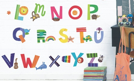 ABC Peel and Stick Wall Stickers