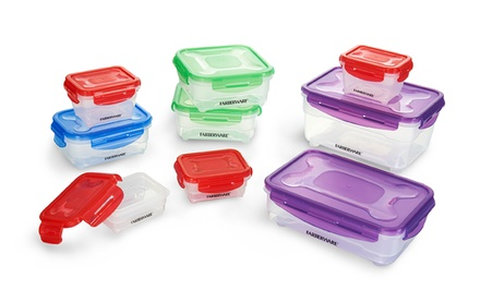 Farberware Microban 18-Piece Snap-Locking Food-Storage Set