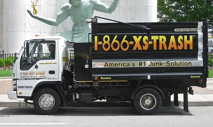 1-866-XS-TRASH - Dearborn Heights: 2 or 3.75 Cubic Yards of Junk Removal from 1-866-XS-TRASH (Up to 58% Off)