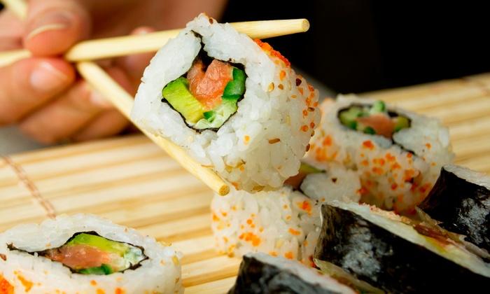 Hon Machi Sushi & Teppanyaki - Stone Oak: Sushi and Teppanyaki Cuisine for Lunch or Dinner at Hon Machi Sushi & Teppanyaki (50% Off)