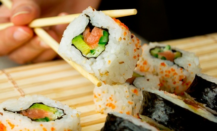 Sushi and Teppanyaki Cuisine for Lunch or Dinner at Hon Machi Sushi & Teppanyaki (50% Off)