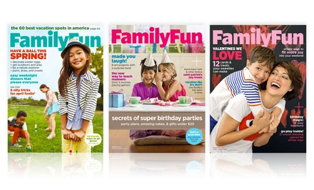 groupon daily deal - 1-Year, 10-Issue Subscription to FamilyFun Magazine