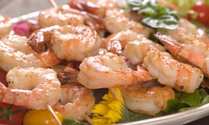 Pat O'Briens San Antonio: $25 for $40 Worth of Cajun Pub Food for Two at Pat O'Brien's San Antonio
