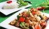 Thai Lunch or Dinner + Drinks