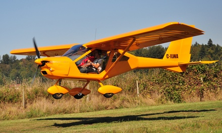 C$27 for a 15-Minute Discovery Flight for One at King George Aviation Flight School in Surrey (C$54 value)