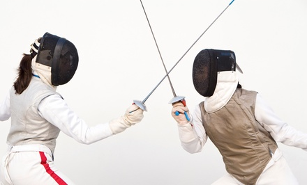 One, Two, or Three Months of Fencing Lessons at Swordplay Fencing Academy (Up to 64% Off)