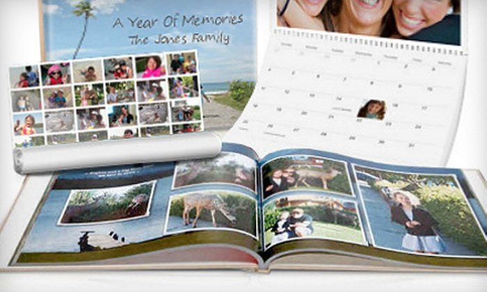 Picaboo: Classic Photo Books, Cards, Calendars, and Collage Posters from Picaboo (Up to 65% Off). Two Options Available.