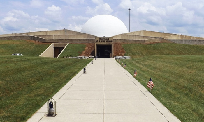 Armstrong Air & Space Museum - Wapakoneta: Admission for Two, Four, or a Family of Four to Armstrong Air & Space Museum (Up to 58% Off)