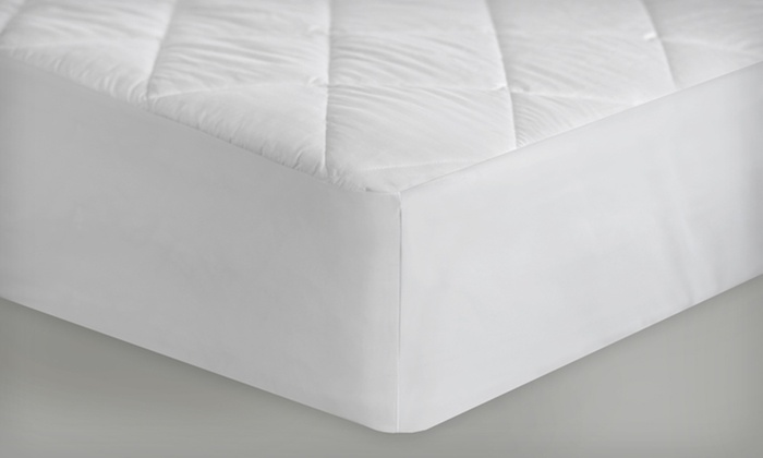 Quilt Tite 100% Cotton Waterproof Mattress Pad: Quilt Tite 100% Cotton Waterproof Mattress Pad (Up to 73% Off). Multiple Sizes Available.