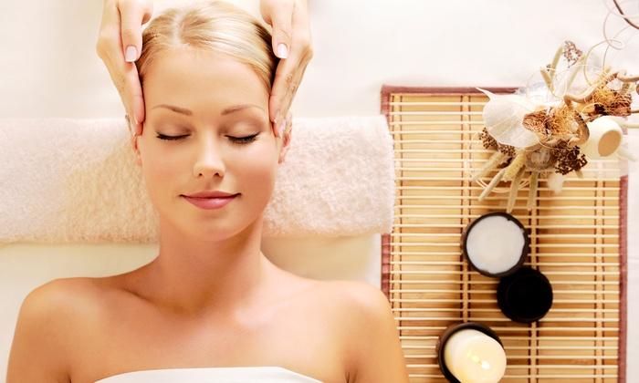 Glamour Beauty Salon and Day Spa - Lake Elsinore: Swedish Aromatherapy Massage with Body Scrub and Sauna or Facial at Glamour Beauty Salon and Day Spa (Up to 65% Off)