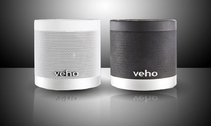 Veho 360º M4 Bluetooth Wireless Speaker: Veho 360º M4 Bluetooth Wireless Speaker in Black or White