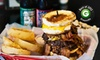 Mojos Famous Burgers - Multiple Locations: $6 for $12 Worth of Gourmet Burgers and Drinks at Mojo's Famous Burgers