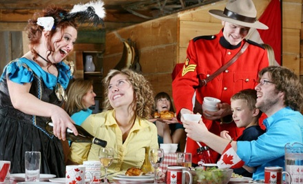 Dinner-Theatre Package for One  - Oh Canada Eh? Dinner Show in Niagara Falls