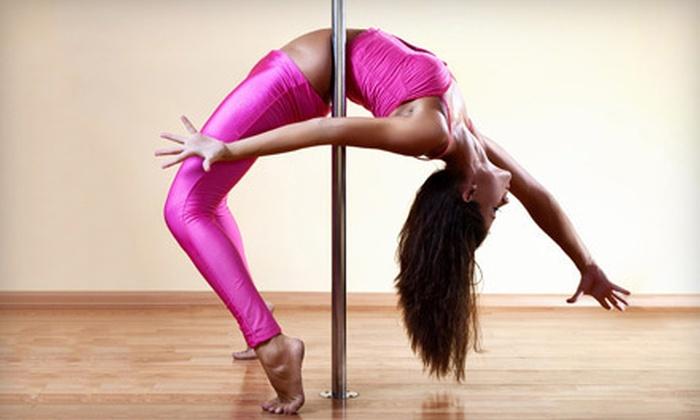 Studio 3sixT - Wellshire: $35 for Four Pole-Dance Fitness Classes at Studio 3sixT ($70 Value)