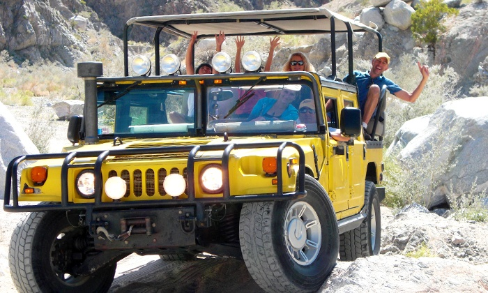 Adventure Hummer Tours - Palm Desert : Joshua Tree Adventure Tour for 2 or 4, or San Andreas Fault Explorer Tour for Up to 9 from Adventure Hummer Tours  (Up to 44% Off)