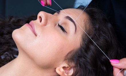 Facial Threading or Waxing at Amita's Threading Salon at Planet Beauty (Up to 47% Off). Three Options Available.