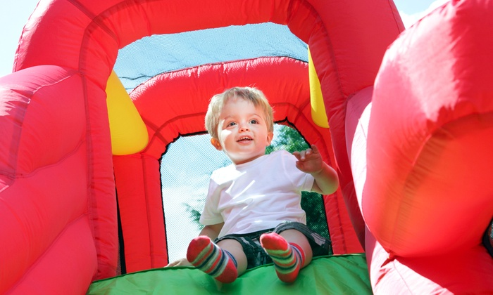 That Bounce Place - Reisterstown: 5 or 10 Groupons, Each Good for aTwo-Hour Bounce-House Visit to That Bounce Place (Up to 50% Off)