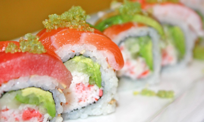 Sushi Creek - Queen Creek: Sushi, American Food, and Drinks at Sushi Creek (Up to 40% Off). Two Options Available.