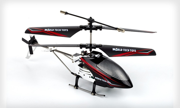 Saturn-X Remote-Controlled Helicopter: $25 for a Saturn-X Alloy Remote-Controlled IR Helicopter ($52.50 List Price). Free Shipping and Free Returns.