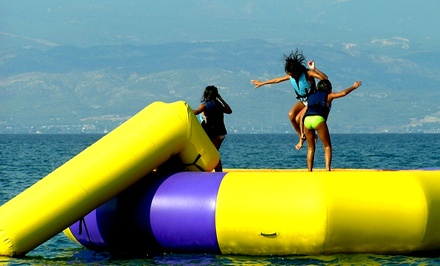 30-Minute Water-Trampoline Rental for 5 or 10 at Aloha Watersports (Up to 65% Off)