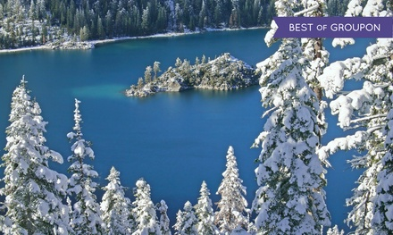 Stay at Lake Tahoe Resort Hotel in California. Dates Available into April.
