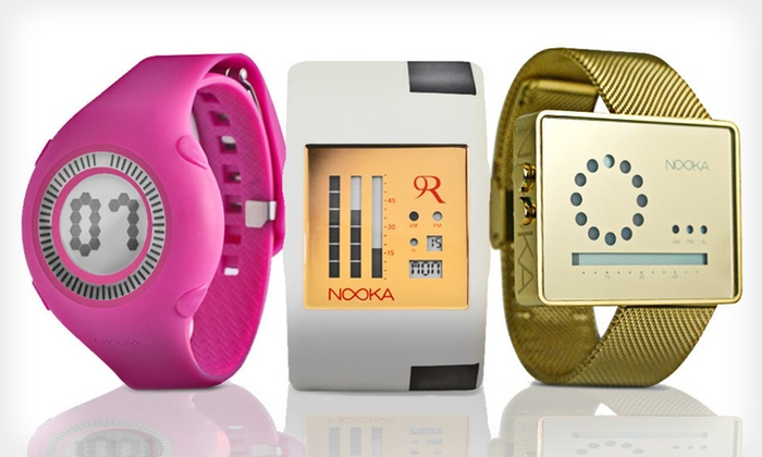 Nooka Watches: Nooka Watches (Up to 66% Off). Multiple Styles Available. Free Shipping.