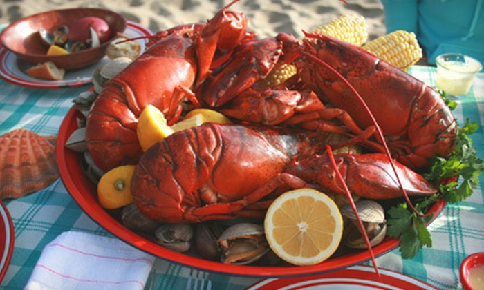 Danny Boys Pub & Restaurant - Middle Village: $39 for a New England Lobster/Clam Bake for Two at Danny Boys Pub & Restaurant in Middle Village ($90 Value)