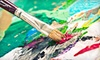 Painting a Night Out: One or Three Painting Classes from Painting A Night Out (Up to 57% Off)