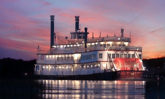 BB Riverboats - Newport: $199 for a 2015 Family Fun Pack with Five Themed Cruises for Four from BB Riverboats (Up to $400 Value)