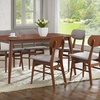 Sacramento Mid-Century 7-Piece Wood Dining Set
