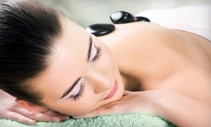 One or Three 50-Minute Relaxation, Deep-Tissue, or Hot-Stone Massages at Sunset Massage (Up to 53% Off)