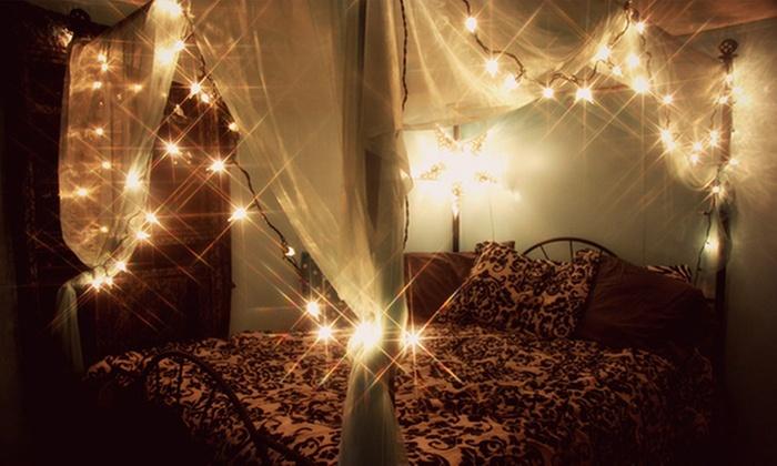 Guirnaldas con luces led groupon goods - Luces led calidas ...