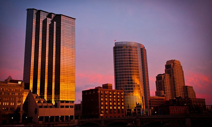 "StudioThirty3 - Wyoming: $35 for One 20""x30"" Print and Five Postcards of Sunset in Grand Rapids from StudioThirty3 ($125 Value)"