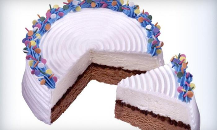 Carvel Ice Cream - DeWitt: Medium or Large Square Ice-Cream Cake, or Small Ice-Cream Sheet Cake at Carvel Ice Cream (Up to 52% Off)