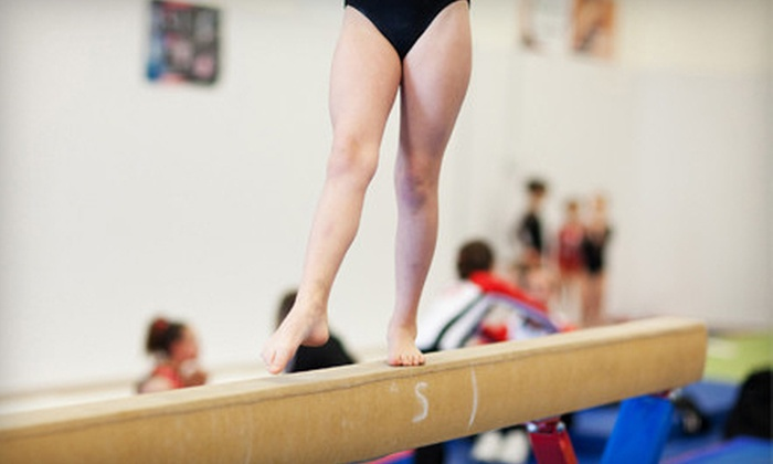 Gymnastiks Unlimited - Hudsonville: $28 for Four Weeks of One-Hour Kids' Gymnastics Classes at Gymnastiks Unlimited in Hudsonville ($56 Value)