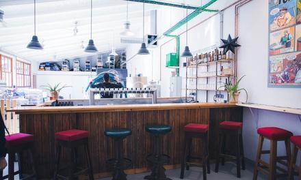 Cata de 5 cervezas con picada para 2, 4 u 8 personas desde 19,95 € en Cerveza Artesana Forastera