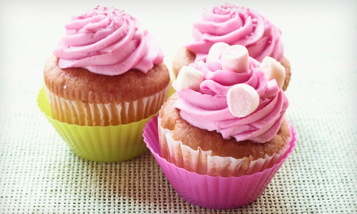Sweet Escapes - Blossom Valley: One Dozen Cupcakes or $20 for $40 Toward a Custom Cake from Sweet Escapes