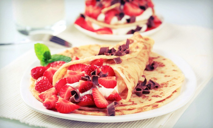 Sofi's Crepes - Fells Point: $10 for $20 Worth of Crepes or a Five- or 10-Visit Punch Card at Sofi's Crepes (Up to 68% Off)