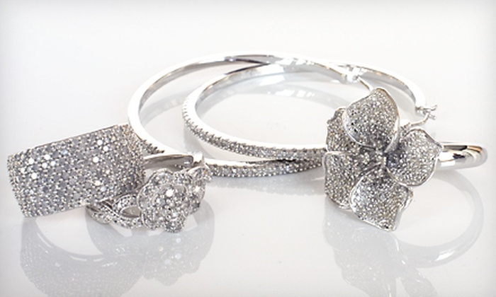 Diamond Jewelry: Diamond Jewelry (Up to 83% Off). Free Shipping. Multiple Styles Available.