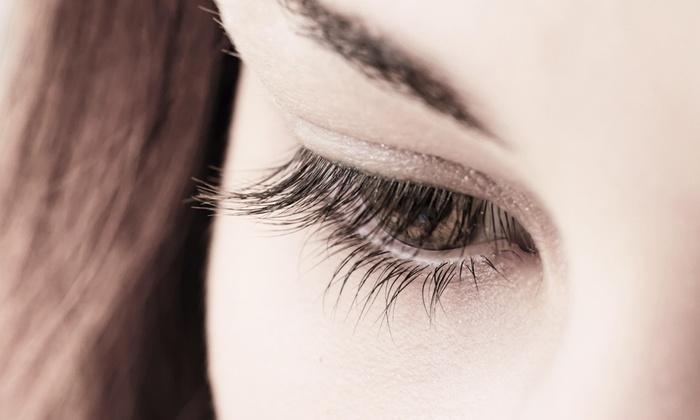 Lights, Camera, Action! Hairstyles - Raleigh / Durham: Half Set of Eyelash Extensions at Lights, Camera, Action! Hairstyles  (50% Off)