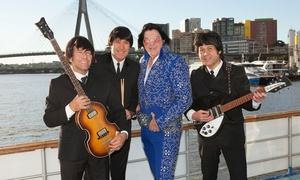 Cruise Sydney Harbour & Rhythmboat Cruises: $49 for Beatles Meets Elvis Harbour Cruise and Three-Course Feast with Rhythmboat Cruises (Up to $99 Value)