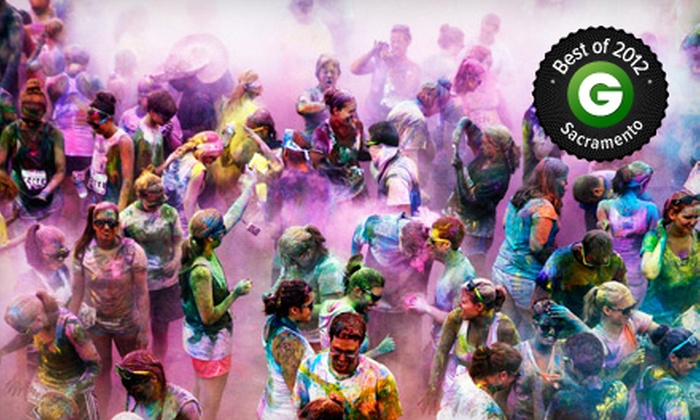 Color Me Rad - Sacramento Raceway Park: $25 for the Color Me Rad 5K Run on Monday, May 27, at Sacramento Raceway Park (Up to $50 Value)