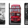 """$99.99 for a 36""""x60"""" Locomotion Canvas Triptych"""