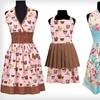 Up to 73% Off a Retro-Inspired Mother or Daughter Aprons